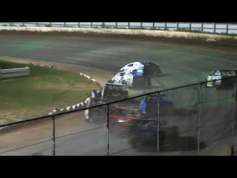 Midwest Modified Feature - Red Cedar Speedway 08/10/2018