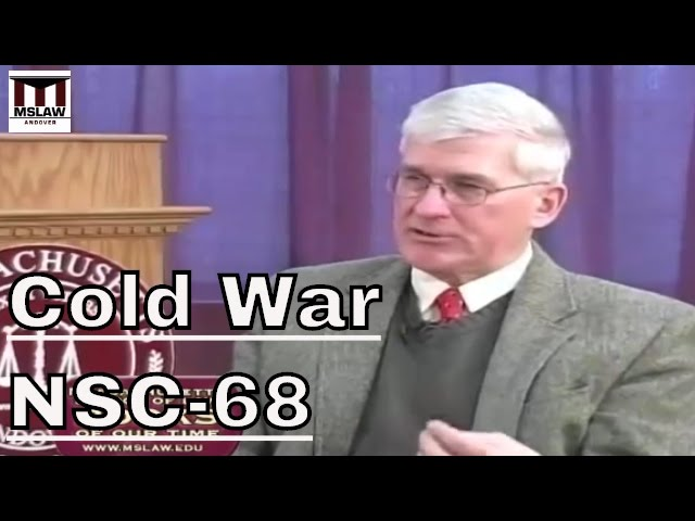 American Cold War Policy: NSC-68 with Andrew Bacevich