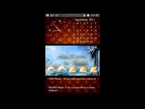 WIP Time Date Weather RSS Background Selectable
