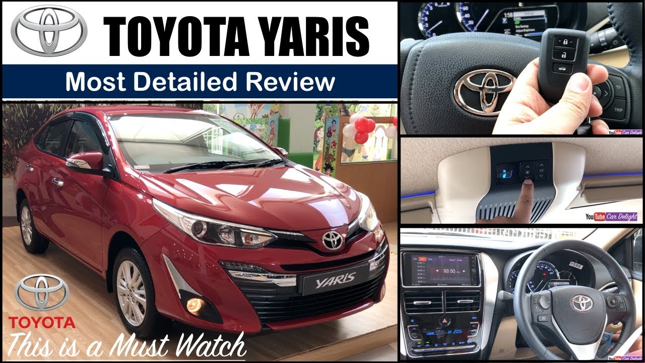 2018 Toyota Yaris Toyota Yaris Interior Yaris Toyota Features Price Toyota Yaris Review