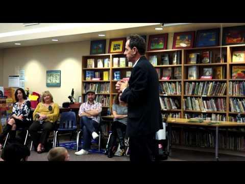 Etan Boritzer 'Young Writers Workshop' Lee Elementary School, Los Alamitos, CA