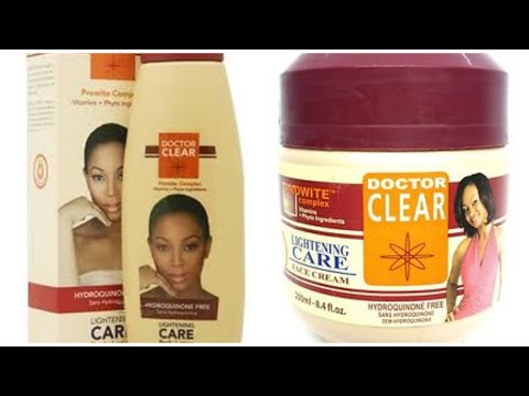Doctor Clear Lightening Face Cream Review