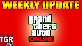 GTA ONLINE - NEW UPDATE, WEEKLY DISCOUNTS, DOUBLE MONEY! NEW INFO COMING(GTA5 ONLINE NEW EVENT WEEK)