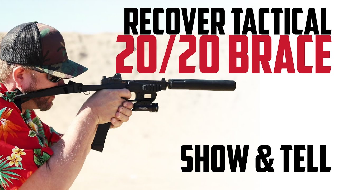 Recover Tactical 20/20 Brace - Show & Tell