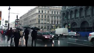 Дождь в Питере. Невский проспект.