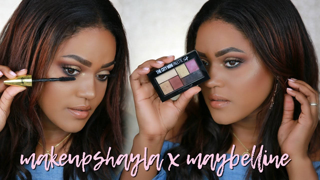 3fd51ff9e6e MAKEUPSHAYLA MAYBELLINE COLLECTION MAKEUP TUTORIAL - YouTube