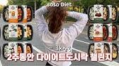 ENG) 2주동안 점심, 저녁 다이어트도시락만 먹었습니다. 충격적인 몸무게 대공개……몇키로 감량 성공? soso diet Vlog, Diet Diary for 2 Weeks