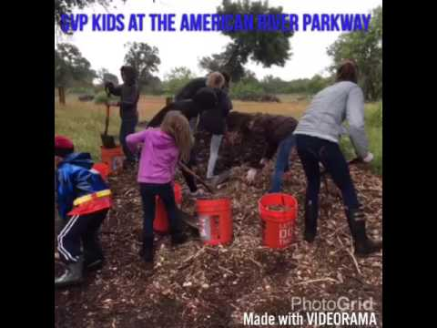 SVP KIDS At American River Parkway Foundation 5/7/16