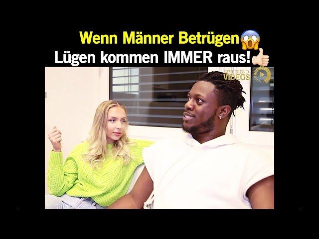 Wenn Männer Betrügen 😱 Lügen kommen IMMER raus! 👍   Best Trend Videos