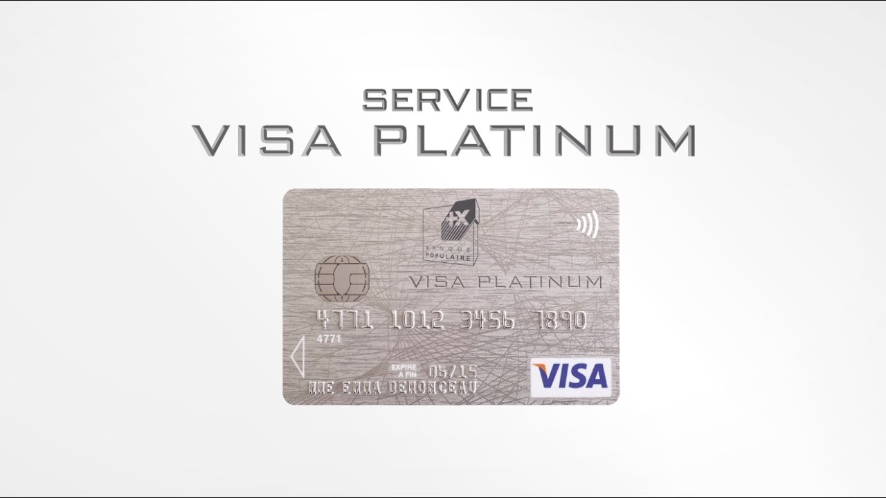 Carte Bleue Platinum.Visa Platinum Youtube