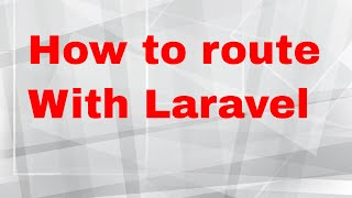 Laravel tutorial - 5 - routing to controller and views in laravel php framework [part 1] Mp3