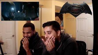 Batman V Superman - Final Trailer REACTION!!!!