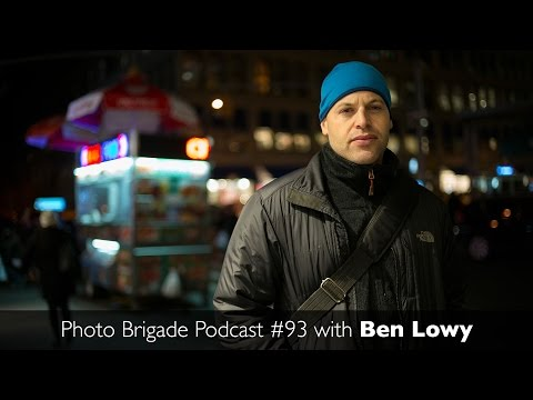 Ben Lowy - Covering Conflict and Major Events...on an iPhone - Photo Brigade Podcast #93