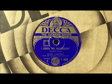 "Elsie Carlisle - ""I Cover the Waterfront"" (1933)"