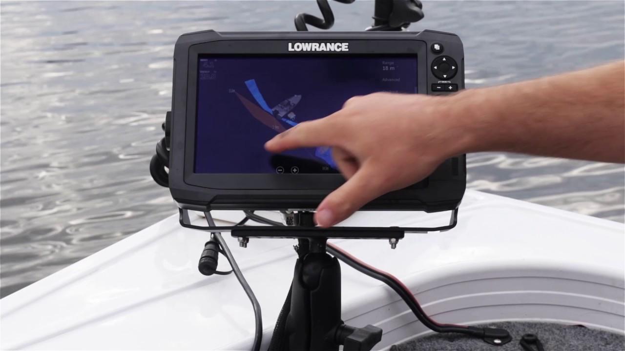 Lowrance HDS Carbon - Freshest Fishing Tours