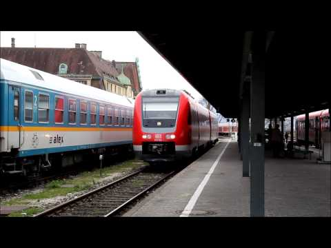br 612 turbodiesel abfahrt in lindau hbf youtube. Black Bedroom Furniture Sets. Home Design Ideas