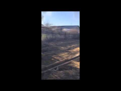 Пожар в п. Металлург 3 мая 2016