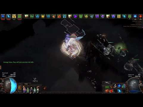 PoE 3.10 Delirium - Stacking Heralds Ethereal Knives- Budget (30 Ex) 15 Mil Dps