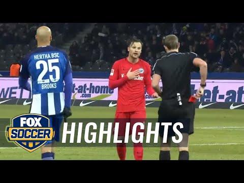 Hertha Berlin Vs. Eintracht Frankfurt | 2016-17 Bundesliga Highlights