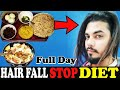 Full Day Of Eating To Stop Hair Fall | Healthy Hair Diet | Asad Ansari