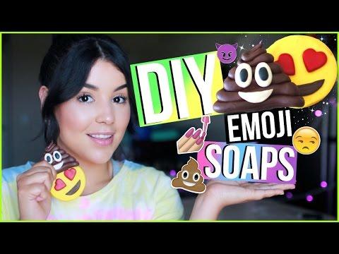 Diy Emoji Soap Easy How To Melt Amp Pour Soap Using