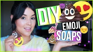 DIY Emoji Soap! Easy Melt & Pour Emoji Soap Tutorial!