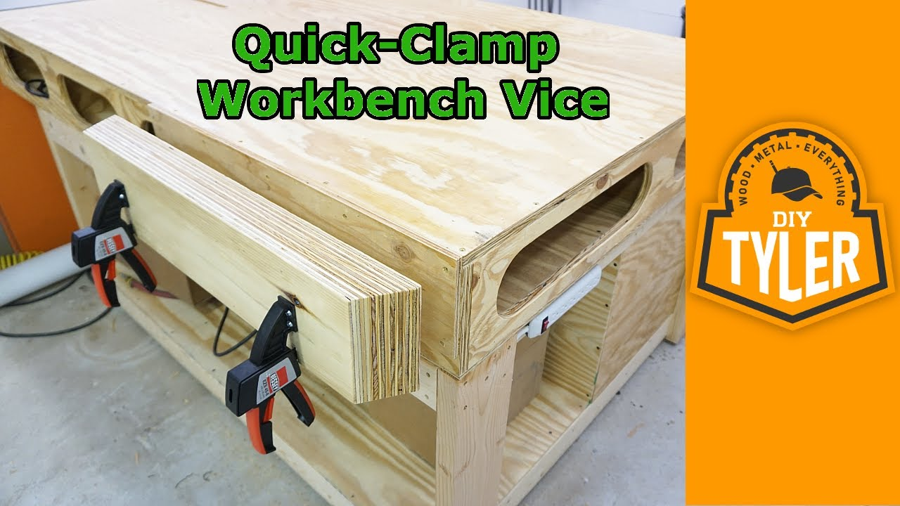 Quick Clamp Vice For The Workbench Youtube