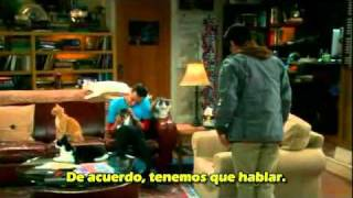 TBBT Sheldon and Leonard Cat sustitution.avi