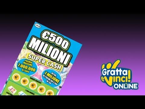 Gratta e Vinci: 500 Milioni Super Cash - Biglietto 11 [Serie 67]