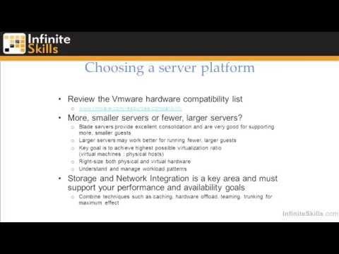 VMware ESXi & vSphere 5.1 Admininstration Training : Virtualization Overview Part 2