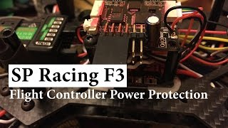 SP Pro Racing F3 Flight Controller Board 6DOF 10DOF Deluxe Power Protection. How to solve.