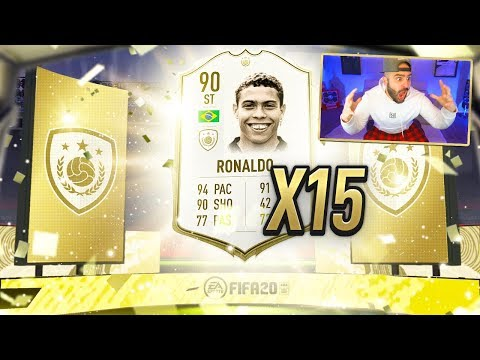 RONALDO PACKED!! OMG BEST ICON PACKS EVER!!! FIFA 20 Ultimate Team Pack Opening