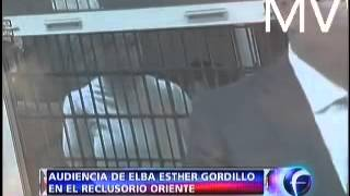 Audiencia de Elba Esther Gordillo en el Reclusorio Oriente