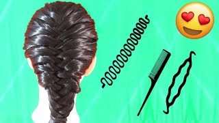 How to Make Barbie Princess Hair Style with Simple Tricks & Tools