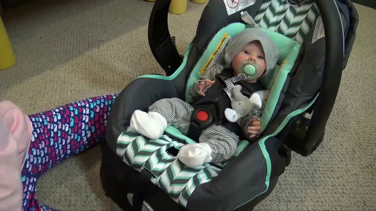 Reborn Baby Alive Look Real In A Car Seat With Kelli Maple