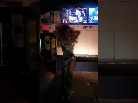 Shake your groove thing - Miss LaBella Mafia at Nellie's sport bar DC