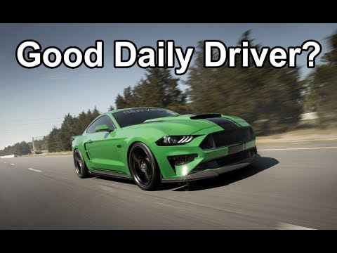 Is the 2019 Ford Mustang GT a GOOD DAILY DRIVER?