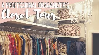 What does a Professional Organizer's Closet look like? | CLOSET TOUR