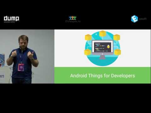 "Кардава Звиад, Voximplant, Google Developer Expert ""ANDROID THINGS + GOOGLE WEAVE"""