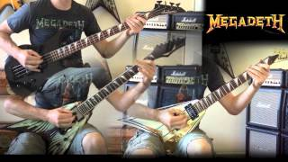 Megadeth - Take No Prisoners All Guitar Cover