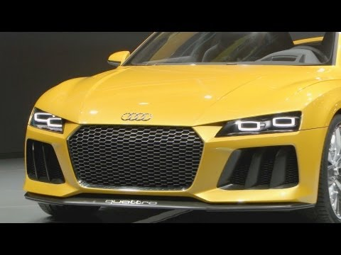 NEW Audi Sport quattro concept 700 hp