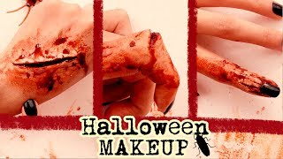 ☠  3 CREEPY SCARS MAKEUP IDEAS (FAKE)☠ | Troll your friends|#Halloween | COOKIES IN THE SKY