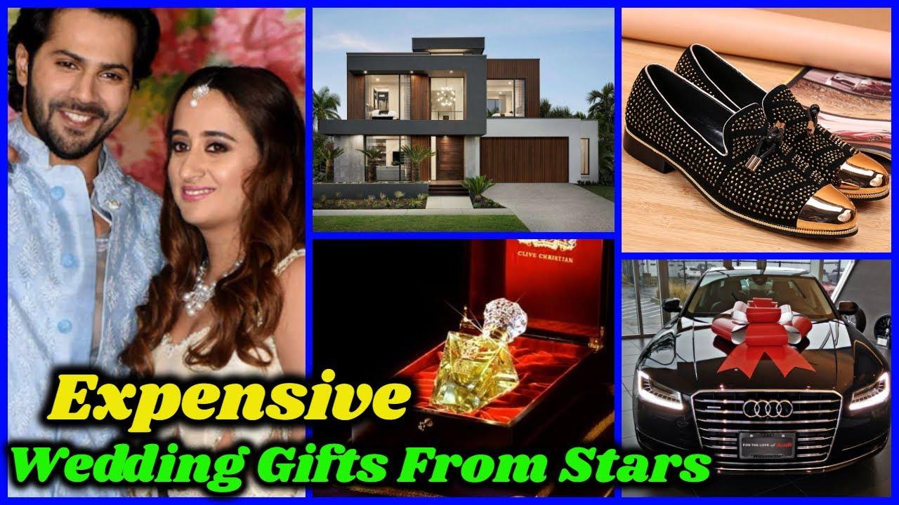 Varun Dhawan Expensive Wedding Gifts From Bollywood Stars