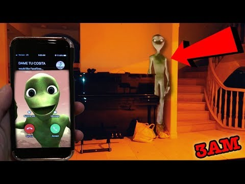 CALLING DAME TU COSITA ON FACETIME AT 3AM | I FOUND DAME TU COSITA IN MY HOUSE!