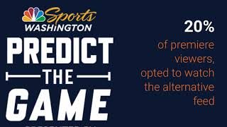 NBC Sports Washington Predict The Game