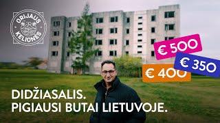 Orijaus kelionės. 48 laida. Didžiasalis, pigiausi butai Lietuvoje