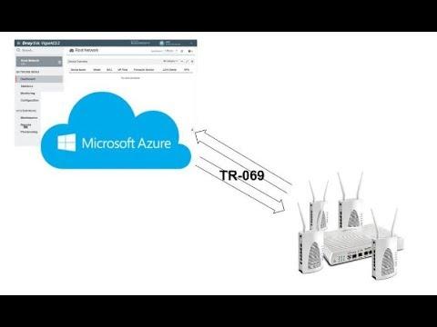 How to install DrayTek VigorACS 2 on Microsoft Azure Cloud Server