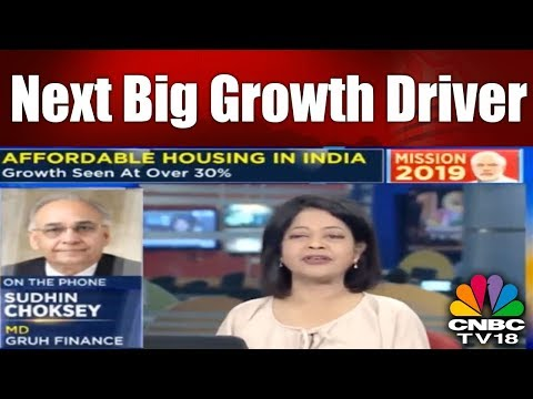 Affordable Housing: Next Big Growth Driver | 5th Jan. 2018 | CNBC TV18
