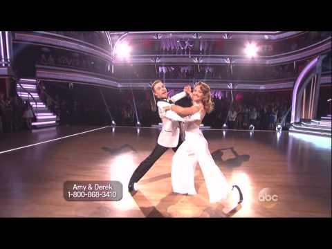 Derek Hough & Amy Purdy dancing Quickstep on DWTS 5 12 14