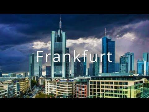 Frankfurt Am Main, Germany In 4K